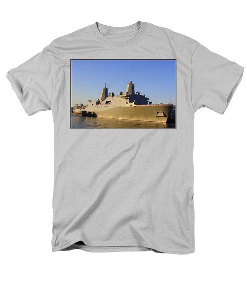 Uss New York - Lpd21 Men's T-Shirt  (Regular Fit) by Dora Sofia Caputo Photographic Art and Design