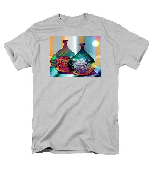 Vases In The Moonlight Men's T-Shirt  (Regular Fit) by Iris Gelbart