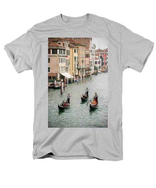 Men's T-Shirt  (Regular Fit) featuring the photograph Venice by Silvia Bruno