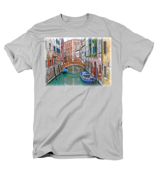 Men's T-Shirt  (Regular Fit) featuring the photograph Venetian Idyll by Hanny Heim