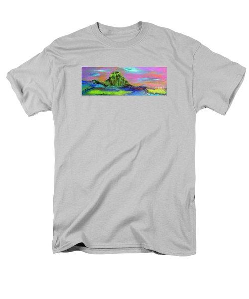 Verdant Tuft Men's T-Shirt  (Regular Fit) by Elizabeth Fontaine-Barr