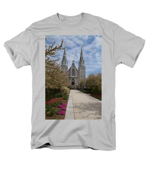 Villanova University Main Chapel  Men's T-Shirt  (Regular Fit) by William Norton