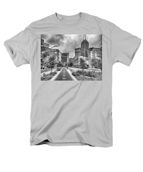 Men's T-Shirt  (Regular Fit) featuring the photograph Virginia Ave. by Howard Salmon