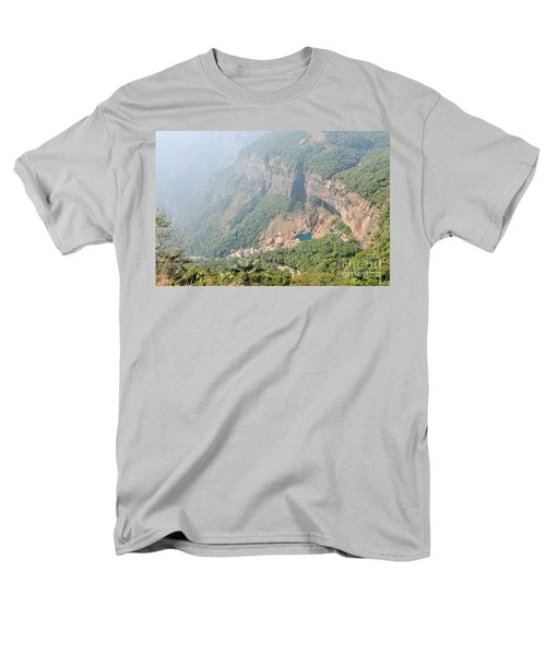 Waiting For The Monsoons Men's T-Shirt  (Regular Fit) by Fotosas Photography