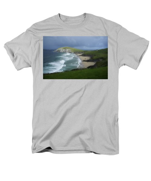 Waves Ring Of Dingle Men's T-Shirt  (Regular Fit) by Hugh Smith