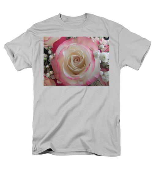 Men's T-Shirt  (Regular Fit) featuring the photograph Wedding Bouquet by Deb Halloran