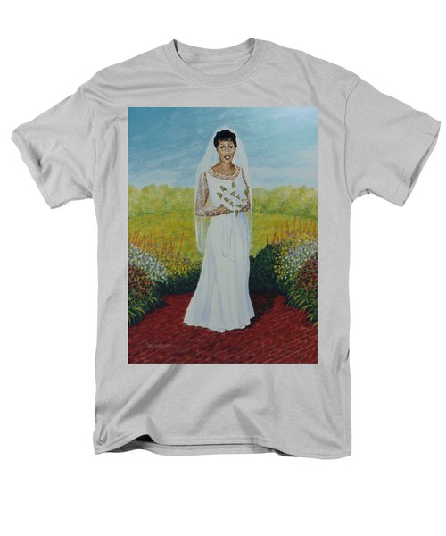 Wedding Day Men's T-Shirt  (Regular Fit) by Stacy C Bottoms