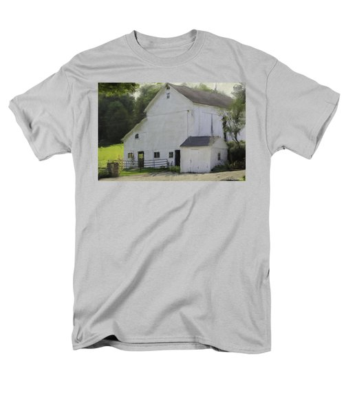 Westport Barn Men's T-Shirt  (Regular Fit) by Fran Gallogly