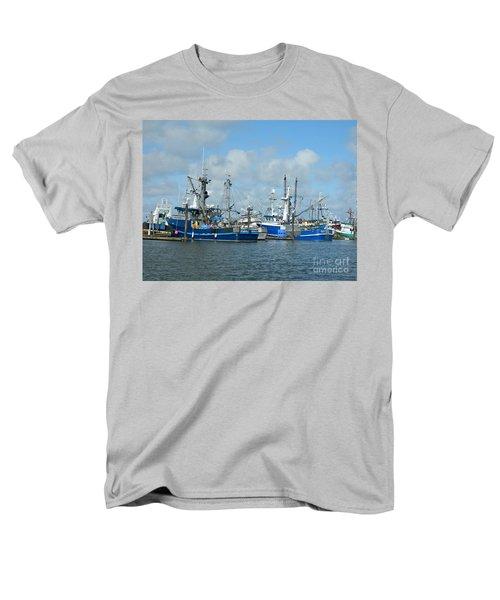 Westport Fishing Boats Men's T-Shirt  (Regular Fit)