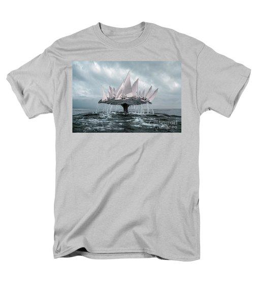 Whale Men's T-Shirt  (Regular Fit) by Evgeniy Lankin