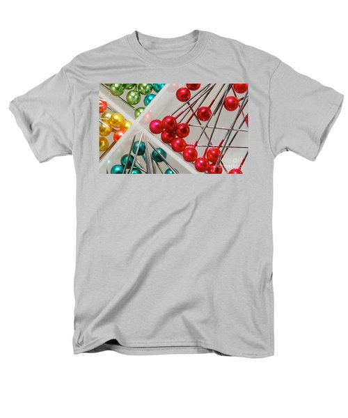 Men's T-Shirt  (Regular Fit) featuring the digital art What A Buncha Pinheads by Margie Chapman
