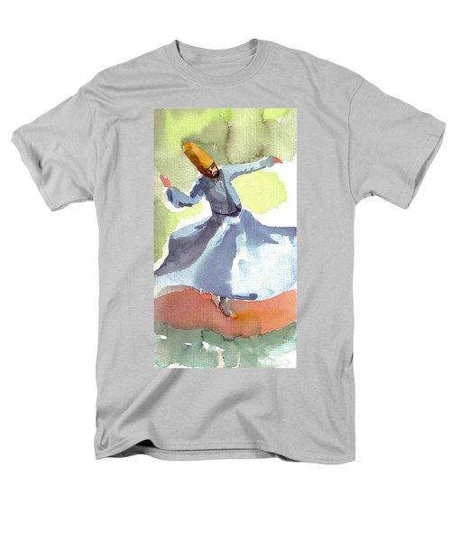 Whirling Dervish Men's T-Shirt  (Regular Fit) by Faruk Koksal