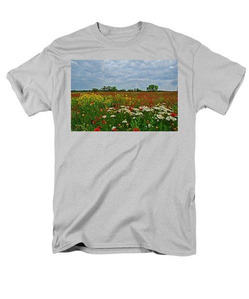 Wild Texas Men's T-Shirt  (Regular Fit) by Lynn Bauer