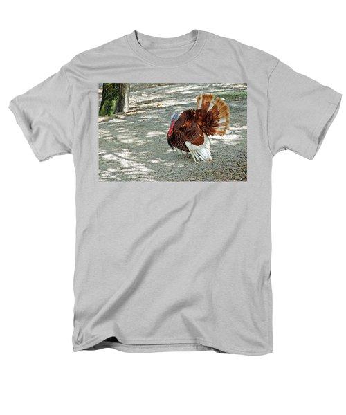 Wild Turkey Men's T-Shirt  (Regular Fit) by Aimee L Maher Photography and Art Visit ALMGallerydotcom