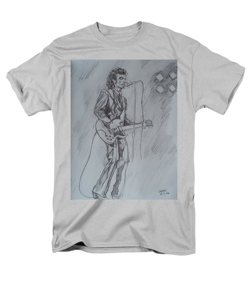 Mink Deville - Steady Drivin' Man Men's T-Shirt  (Regular Fit) by Sean Connolly