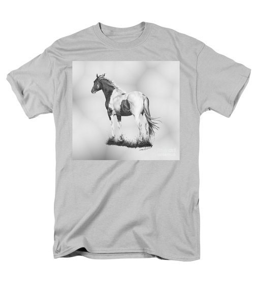 Men's T-Shirt  (Regular Fit) featuring the drawing Winds Of Change by Marianne NANA Betts
