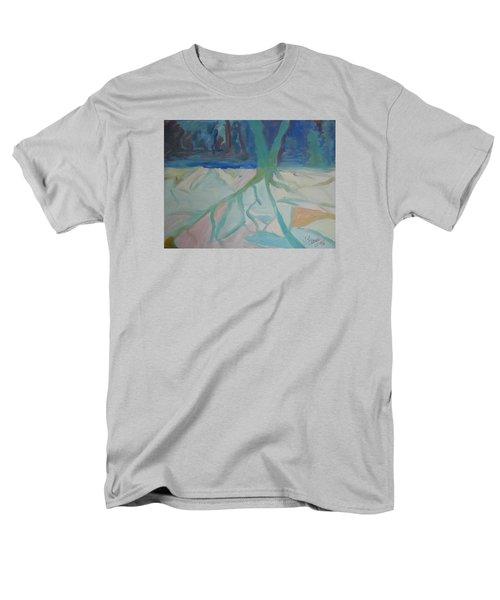 Winter Night Shadows Men's T-Shirt  (Regular Fit)