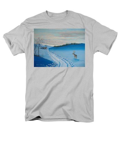 Winter Sentinel Men's T-Shirt  (Regular Fit) by Norm Starks