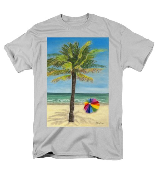 Men's T-Shirt  (Regular Fit) featuring the painting Wish I Was There by Arlene Crafton