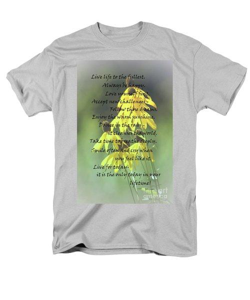 Words For My Teen Men's T-Shirt  (Regular Fit) by Cathy  Beharriell
