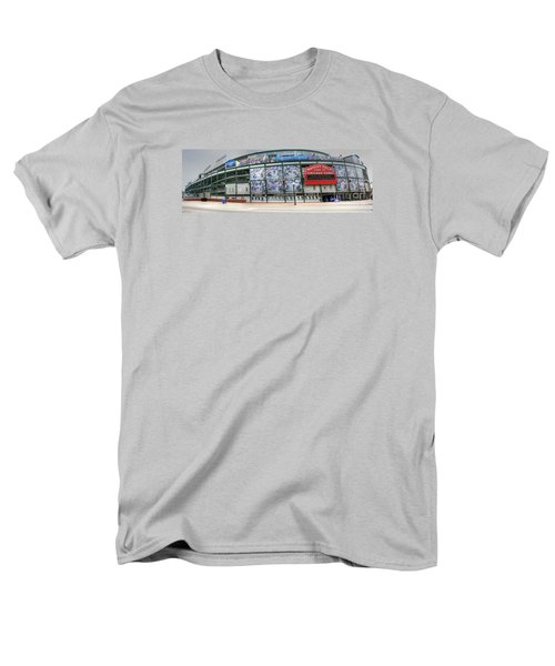 Wrigley Field On Clark Men's T-Shirt  (Regular Fit) by David Bearden