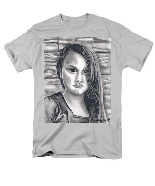 Young Girl- Shan Peck Contest Men's T-Shirt  (Regular Fit) by Samantha Geernaert