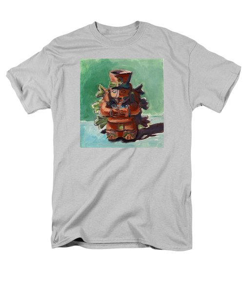 Men's T-Shirt  (Regular Fit) featuring the painting Yucatan Prince by Pattie Wall