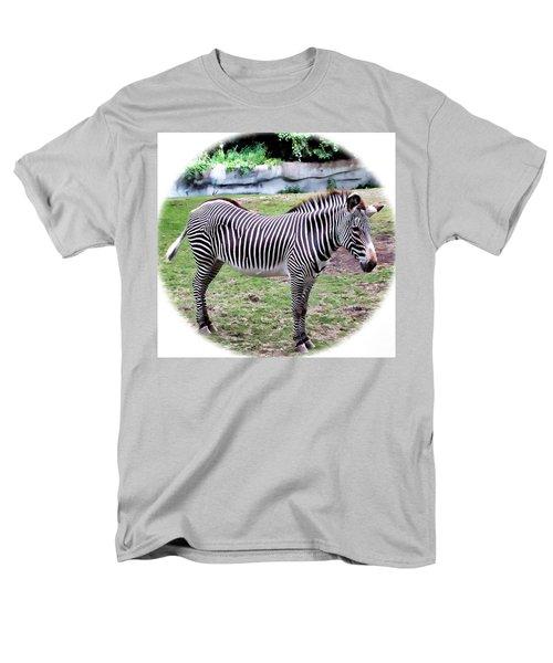 Men's T-Shirt  (Regular Fit) featuring the photograph Zebra 1 by Dawn Eshelman