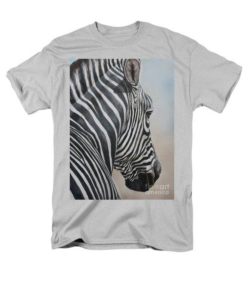 Zebra Look Men's T-Shirt  (Regular Fit)