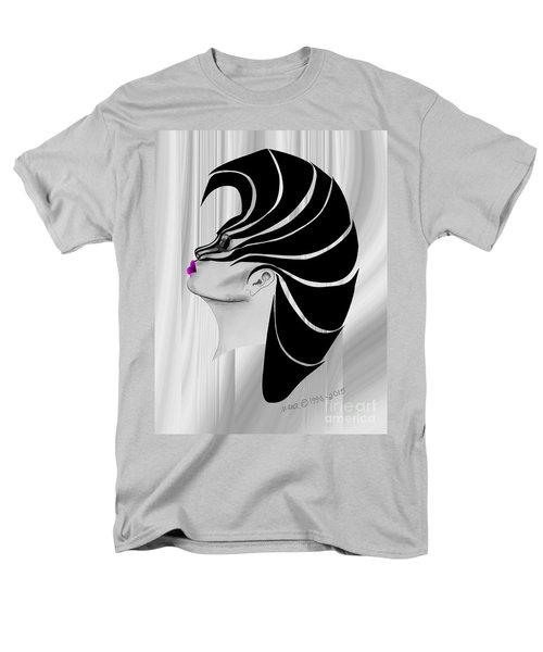 Men's T-Shirt  (Regular Fit) featuring the drawing Zebra Punk by Marianne NANA Betts