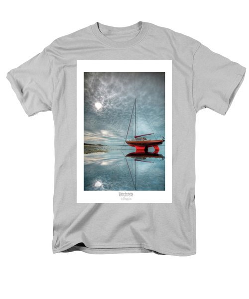 Men's T-Shirt  (Regular Fit) featuring the photograph  Waiting For The Tide by Beverly Cash