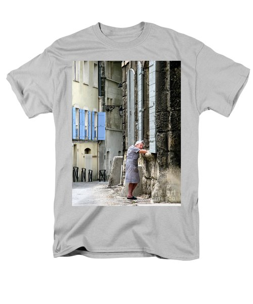 Men's T-Shirt  (Regular Fit) featuring the photograph Another Nap.arles.france by Jennie Breeze