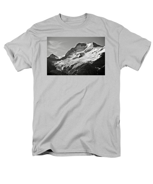 A Glacier In Jasper National Park Men's T-Shirt  (Regular Fit) by RicardMN Photography
