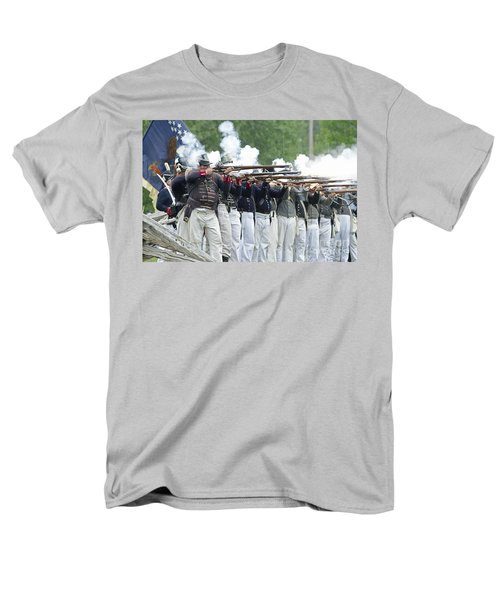 American Firing Line Men's T-Shirt  (Regular Fit) by JT Lewis