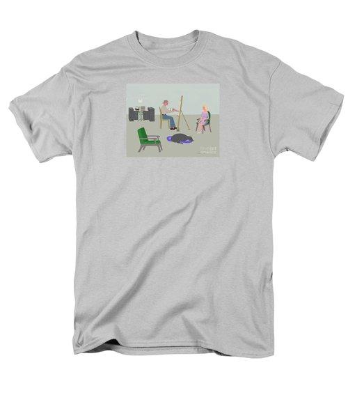 Artists Studio Men's T-Shirt  (Regular Fit) by Fred Jinkins