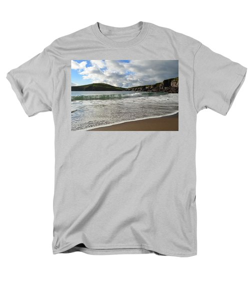 Beebane Beach Men's T-Shirt  (Regular Fit) by Barbara Walsh