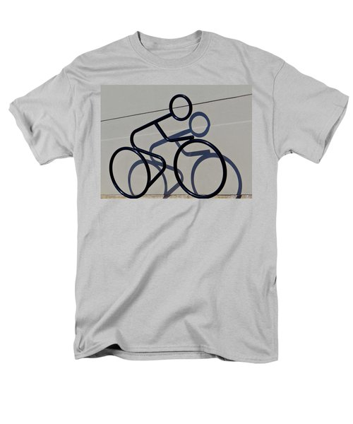 Bicycle Shadow Men's T-Shirt  (Regular Fit) by Julia Wilcox