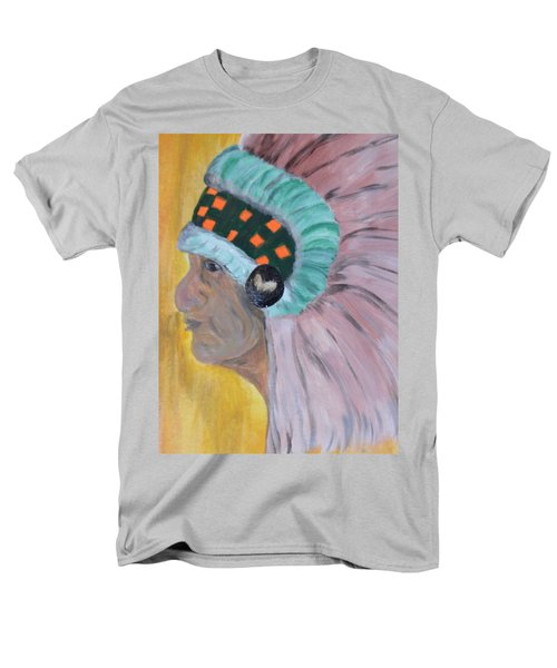 Chief Men's T-Shirt  (Regular Fit) by Maria Urso