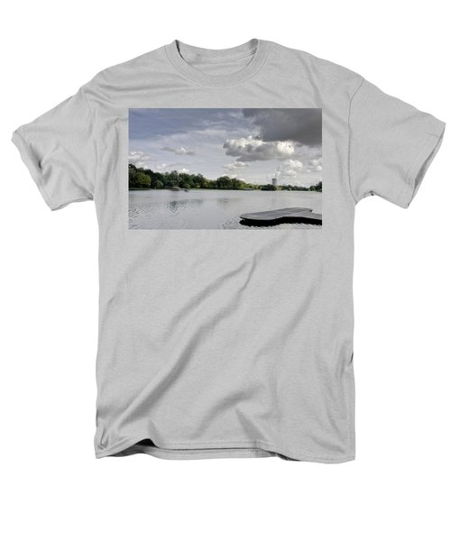 Men's T-Shirt  (Regular Fit) featuring the photograph Cloudy Hyde Park by Maj Seda