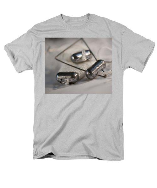 Crab Lines Men's T-Shirt  (Regular Fit) by Wilma  Birdwell
