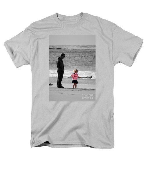 Men's T-Shirt  (Regular Fit) featuring the photograph Fish With Me Daddy by Terri Waters