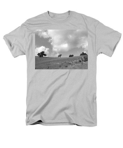 Men's T-Shirt  (Regular Fit) featuring the photograph Four On The Hill by Kathleen Grace