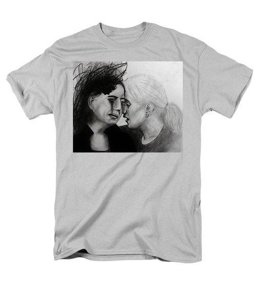 Men's T-Shirt  (Regular Fit) featuring the drawing Friend Indeed by Michael Cross
