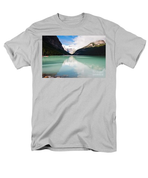 Men's T-Shirt  (Regular Fit) featuring the photograph Gorgeous Lake Louise by Cheryl Baxter