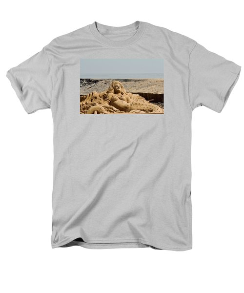 The Little Mermaid By The Sea Men's T-Shirt  (Regular Fit) by Fotosas Photography