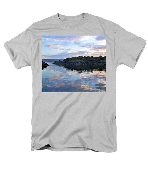 Men's T-Shirt  (Regular Fit) featuring the photograph Inverkip Marina by Lynn Bolt