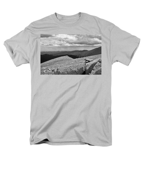 Men's T-Shirt  (Regular Fit) featuring the photograph It's Raining In The Distance by David Pantuso