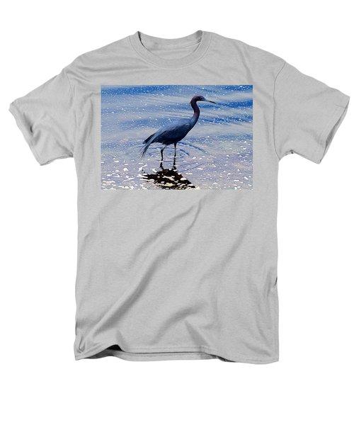 Men's T-Shirt  (Regular Fit) featuring the photograph Lit'l Blue by Elizabeth Winter