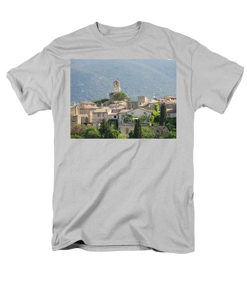 Men's T-Shirt  (Regular Fit) featuring the photograph Lourmarin In Provence by Carla Parris