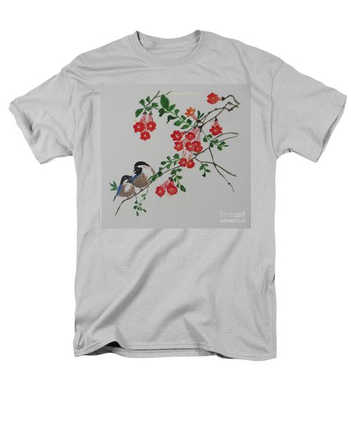 Men's T-Shirt  (Regular Fit) featuring the painting Love by Sonali Gangane